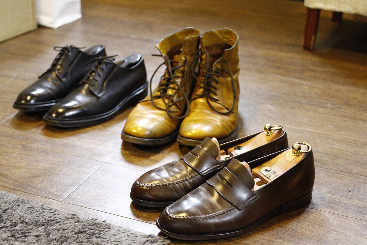 革靴修理3