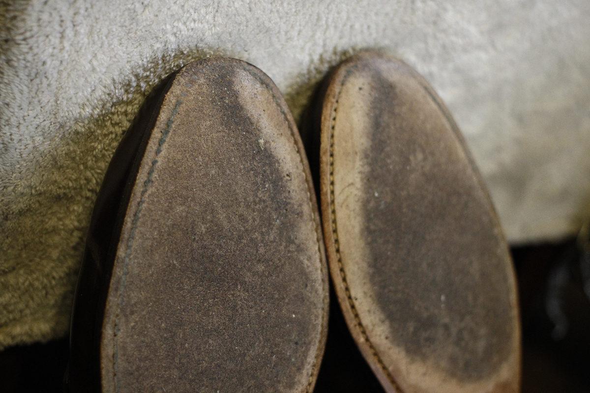 革靴修理4