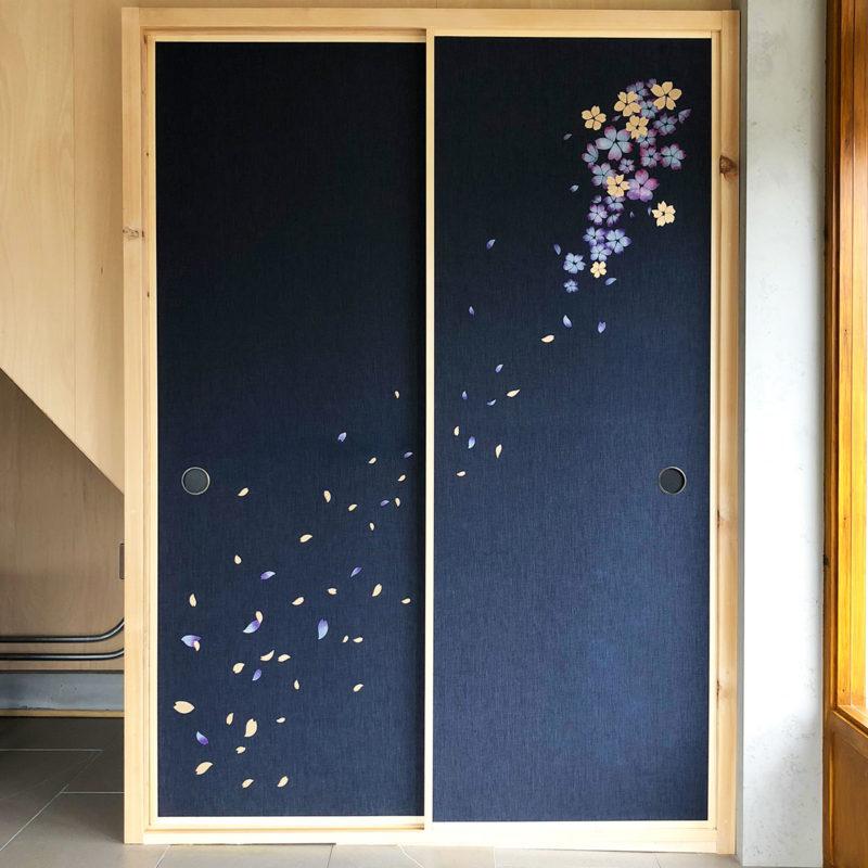 京都デニム襖
