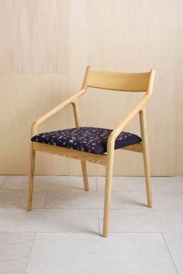 デニム桜椅子