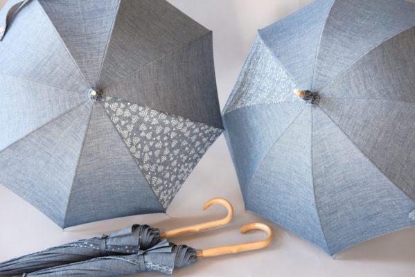 デニム日傘