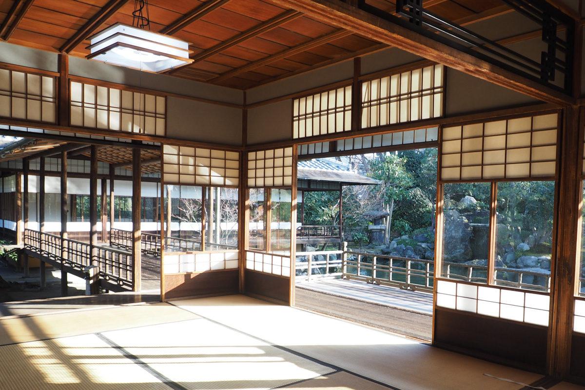 東本願寺室内