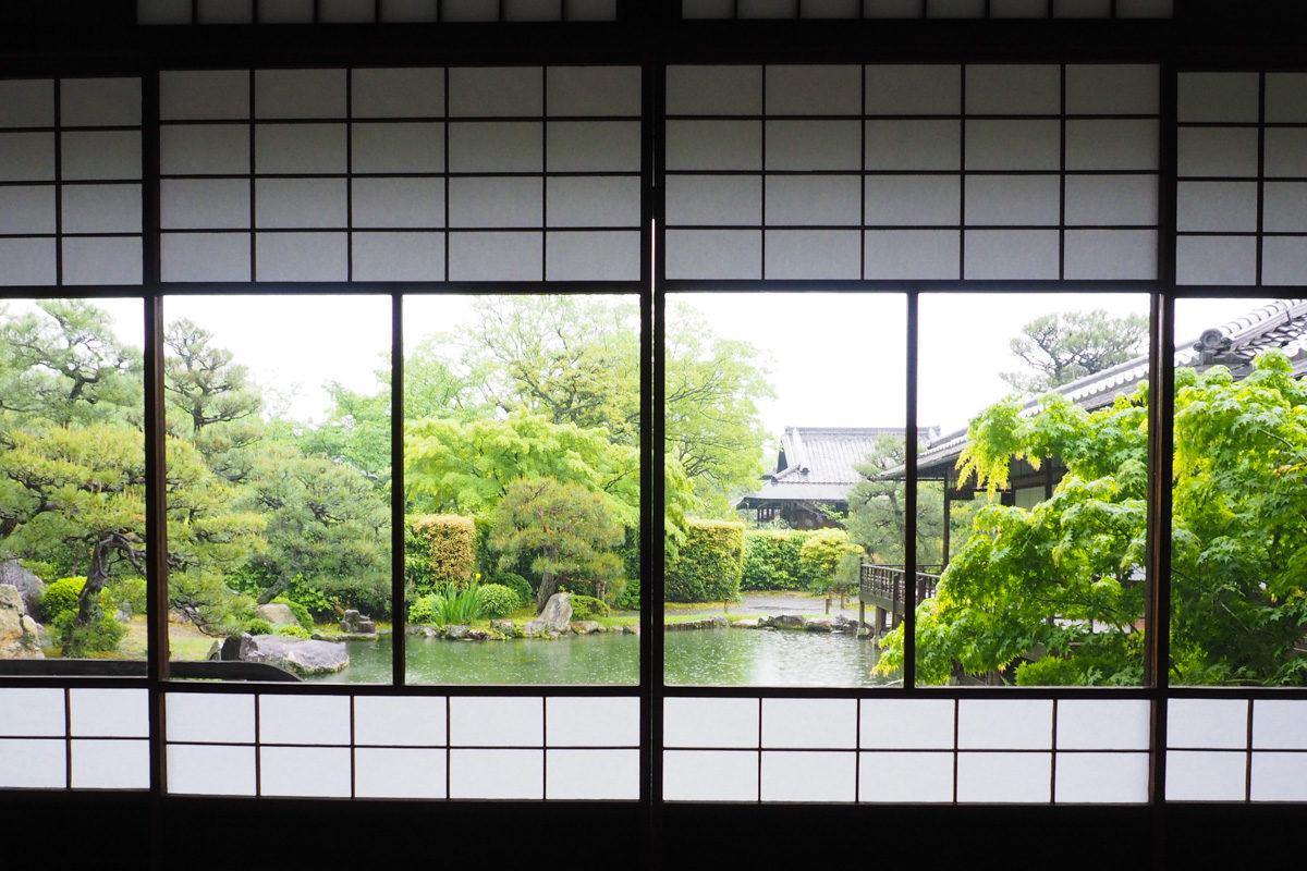 東本願寺障子