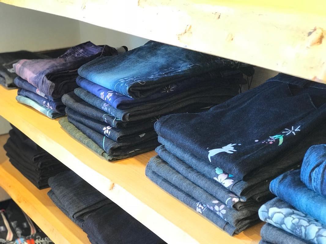 日本唯一のジーンズショップ