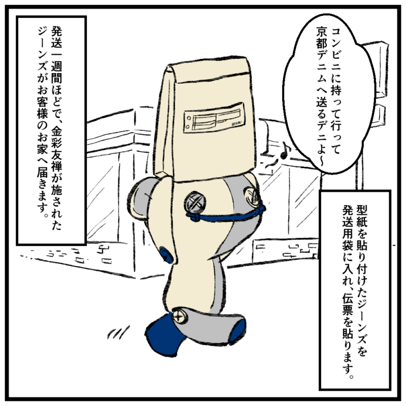 金彩友禅オーダー流れ5