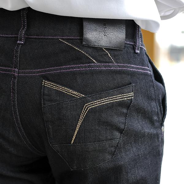 オリジナルジーンズ松葉金糸