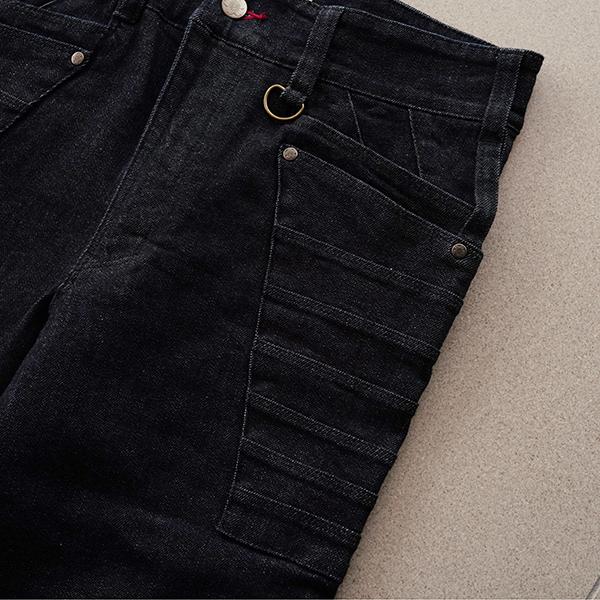 大鎧の特徴的なポケット部分