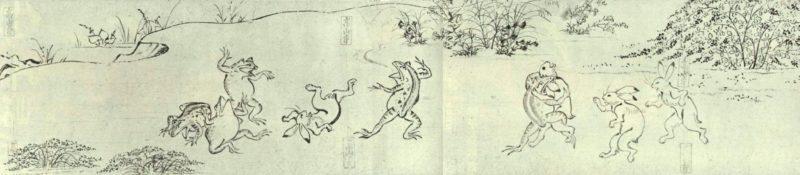 鳥獣人物戯画甲巻