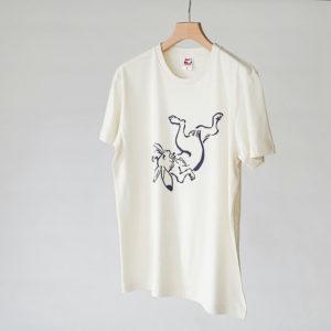 鳥獣Tシャツ2-1