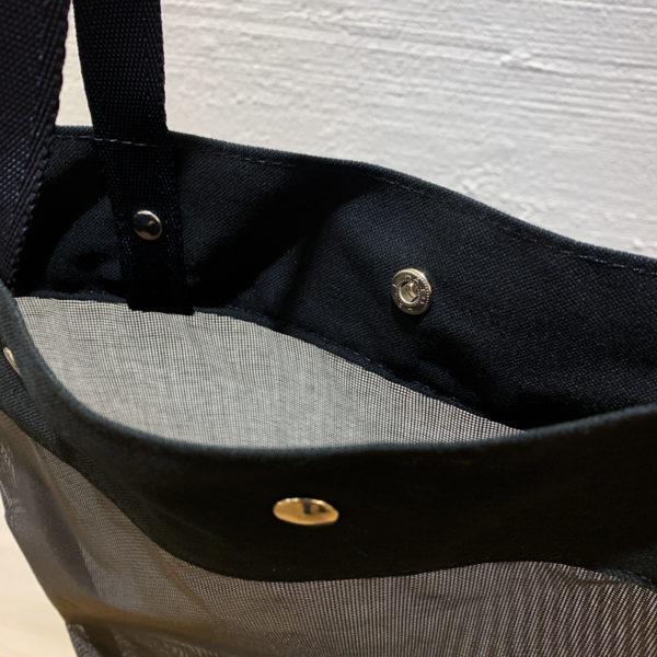 メッシュトートバッグ (黒)