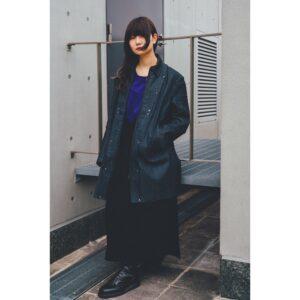 陣羽織鎧デニムコート-Mサイズ