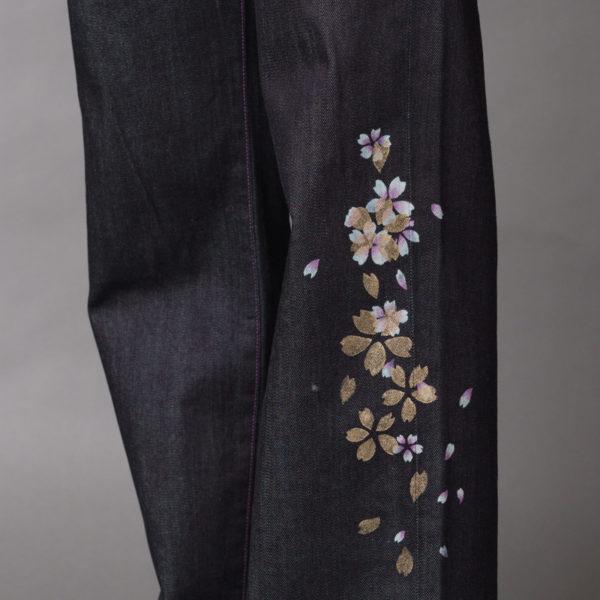 【雅26インチ】伝統工芸京友禅染め金彩重ね小桜文様