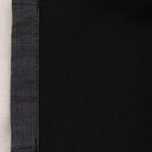 伝統工芸京友禅染めデニムマスク|金彩くくり舞桜文様 ( 裏:抗菌・抗ウィルス加工)(1点もの)