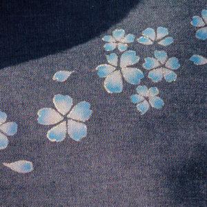 藍舞櫻花圖案