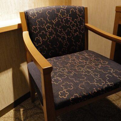 デニムの椅子