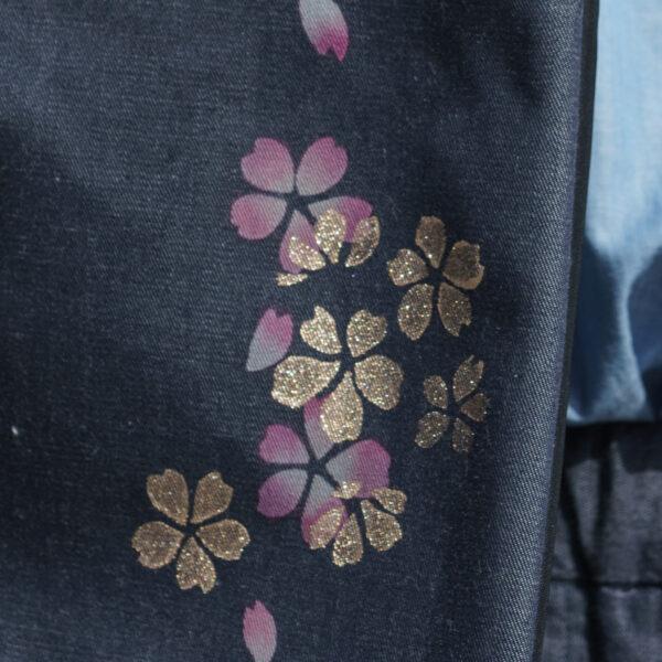 桜デニムサコッシュ