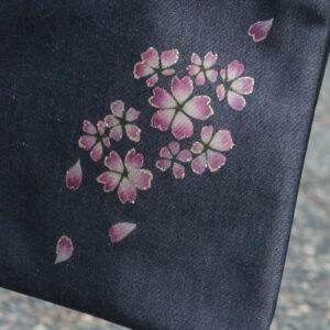 Sacoche en jean Sakura