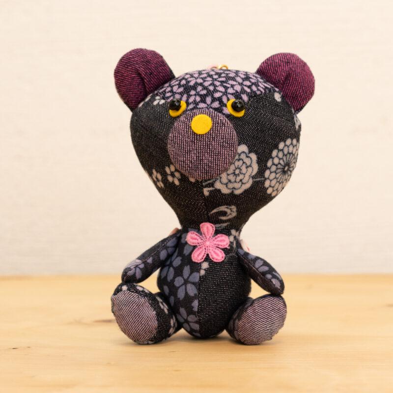 でにぐま(さくら)|伝統工芸京小紋染め