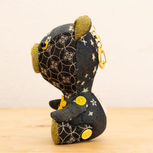 でにぐま(なのはな)|伝統工芸京小紋染め