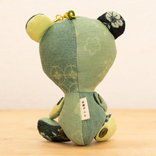 でにぐま(まっちゃ)|伝統工芸京小紋染め