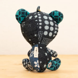 でにぐま(らむね)|伝統工芸京小紋染め