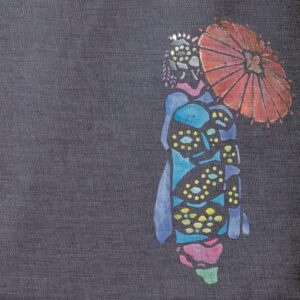 Denim tote bag | Maiko (one-of-a-kind item)
