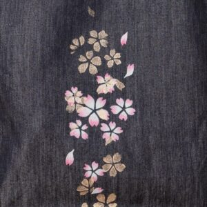 Sac cabas en denim | couche Sakura Kinsai (article unique)