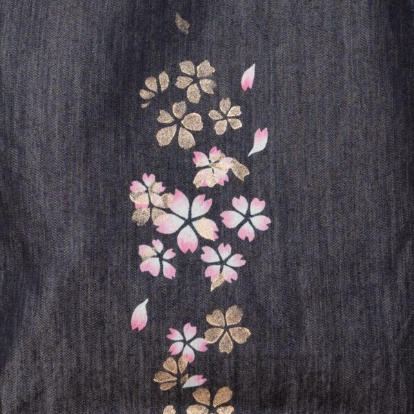 牛仔手提袋|櫻花金賽層(一種商品)