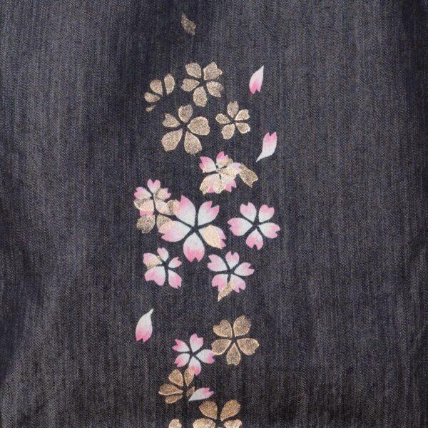 Denim tote bag | Sakura Kinsai layer (one-of-a-kind item)