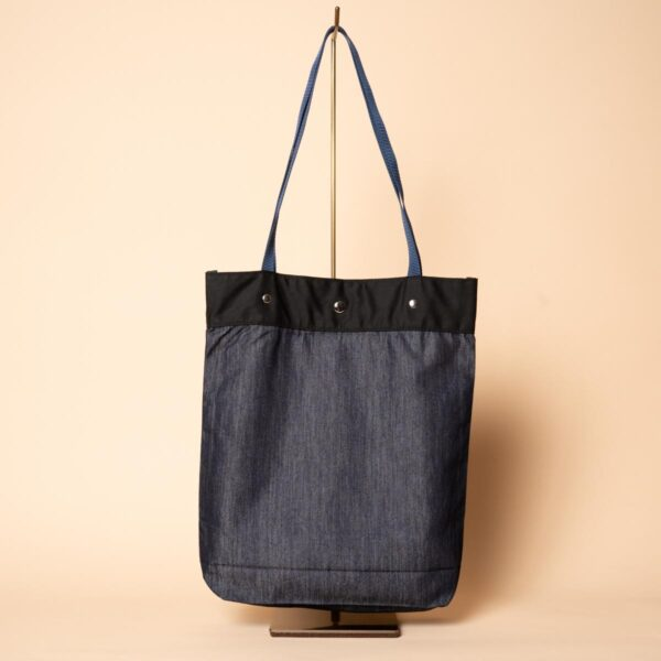Sac fourre-tout en denim | Lotus (unique en son genre)