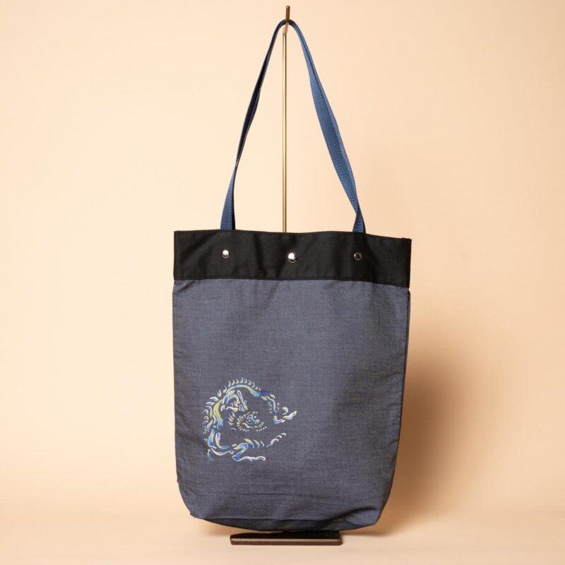 デニムトートバッグ|円龍(一点もの)