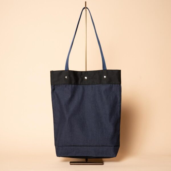 Denim tote bag | Tsubaki (one-of-a-kind item)