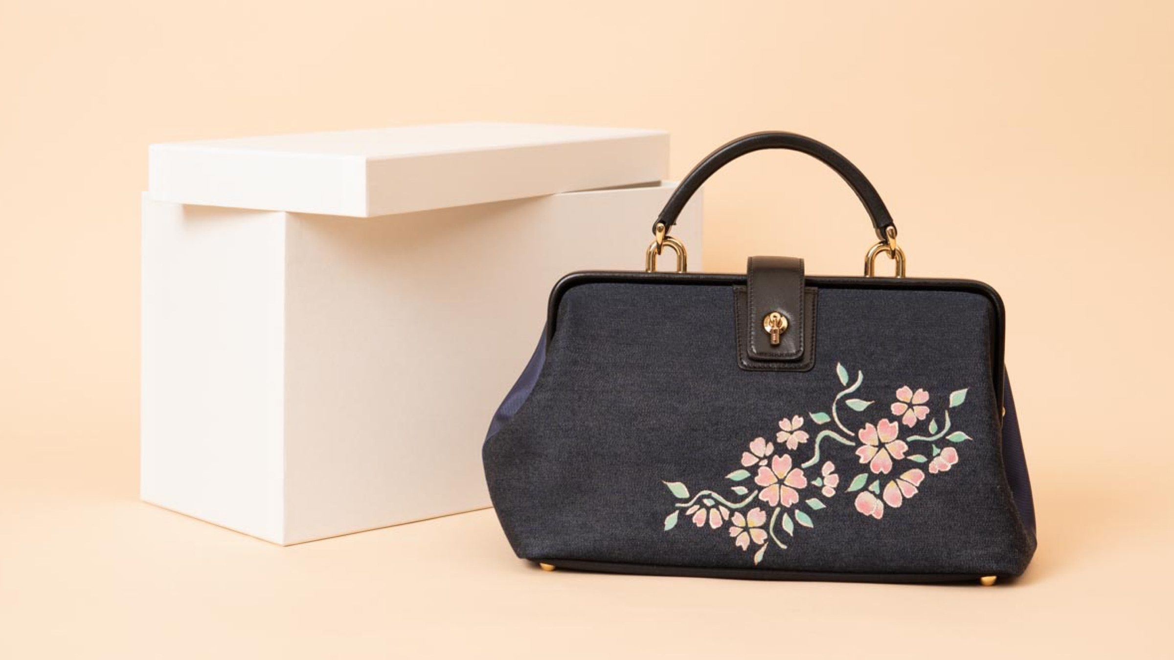 京都デニムのバッグに京友禅染めをオーダー|オーダーメイドの楽しみ方